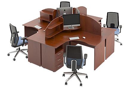 Офисная мебель «АЛЕИТ» в Красноярске от производителя.