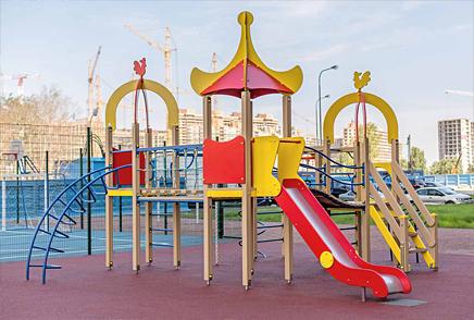 Детские игровые комплексы • Школьные спортивные площадки