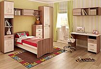 Детские и молодежные комнаты «Витра» Подростковая детская мебель