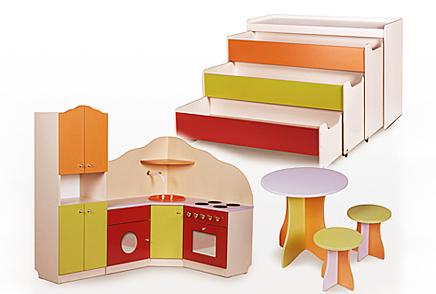 Мебель для детских садов (каталог) Красноярск.