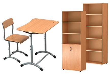 Школьная мебель Красноярск • Купить парты и стулья оптом.