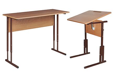 Парты школьные регулируемые по высоте • Столы для школы