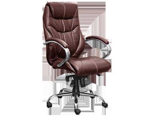 Офисное кресло из натуральной кожи для руководителей