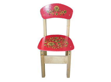 деревянный детский стул