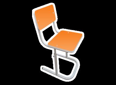 регулируемый стул для детского сада