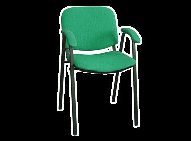 стул для офиса ИЗО с подлокотниками