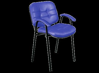 мягкий офисный стул ИЗО с подлокотниками