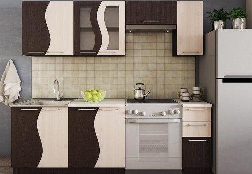 кухня волна эконом кухонный гарнитур