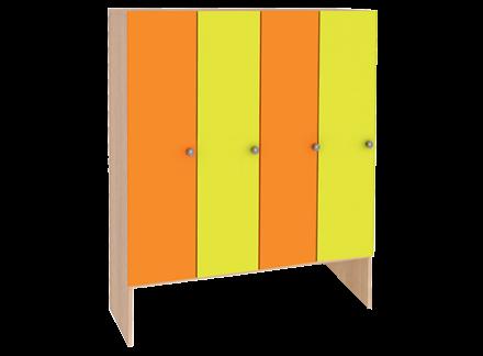Шкафы и скамейки для детского сада