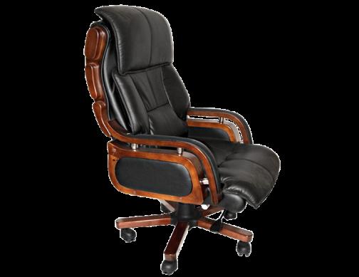 Кресло офисное из кожи