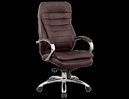 Кресло офисное кожа натуральная