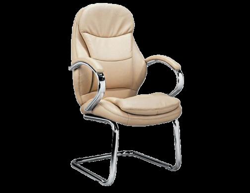 Офисное кресло на полозьях
