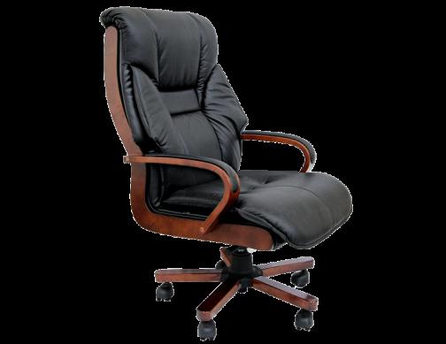 Кресло из натуральной кожи для руководителей