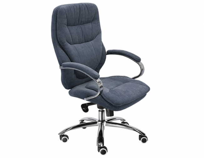 Офисное кресло велюр