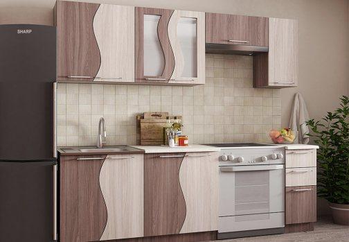 кухонный гарнитур эконом мебель