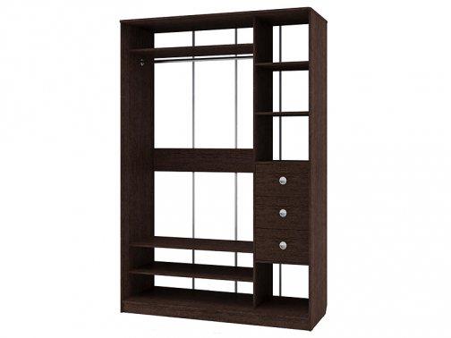 шкаф с двумя зеркалами
