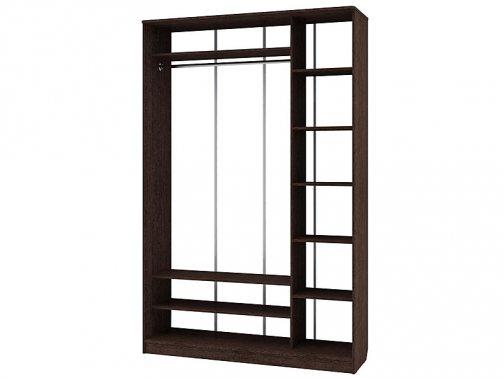 двухдверный шкаф-купе с зеркалом