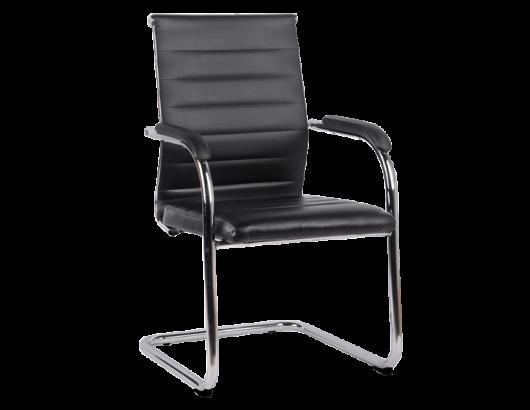 Кресло на полозьях для посетителей