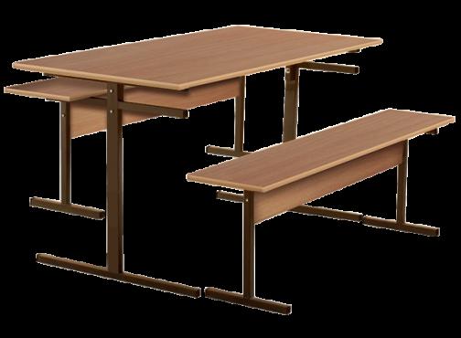 Школьный обеденный стол с подвесами
