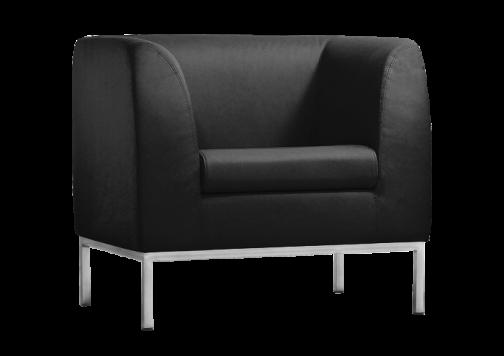 Офисный диван из экокожи