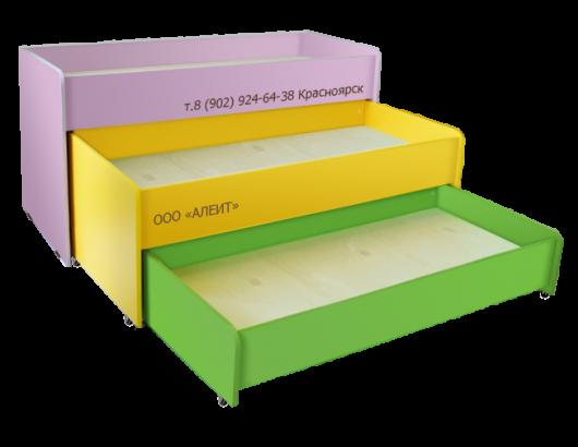 Кровать детская многоярусная для садика