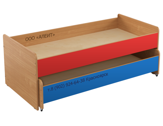 Многоярусная кровать для детских садов