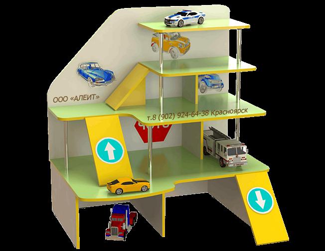 Игровая мебель Паркинг для детского сада.