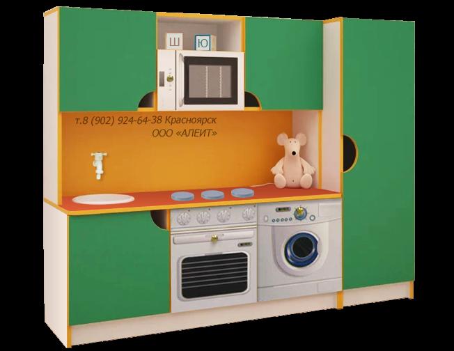 Кухня для детского сада игровая мебель