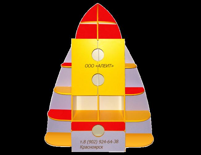 Игровая мебель Ракета для детских садов