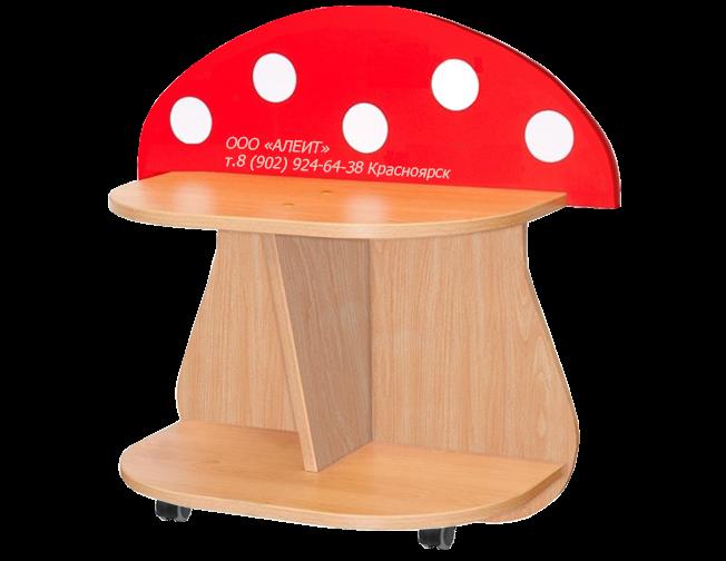 Игровой стеллаж для детских садов