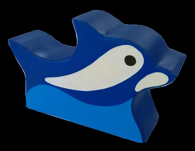 Игровой мягкий модуль Дельфин