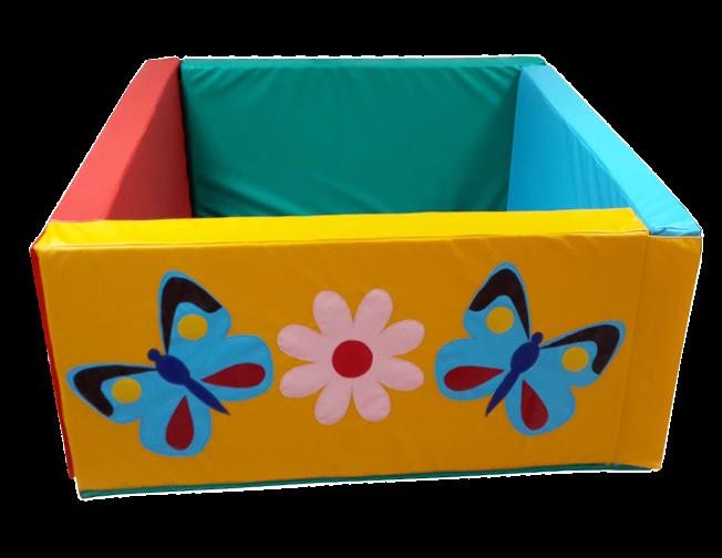 Сухой игровой бассейн для детского сада