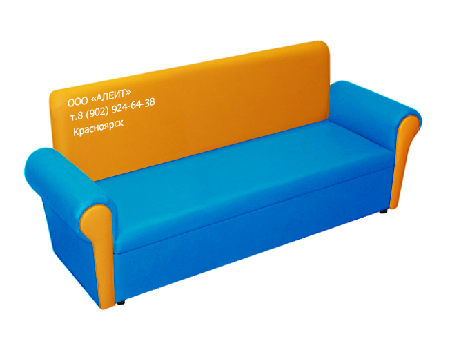 Детский диван трехместный