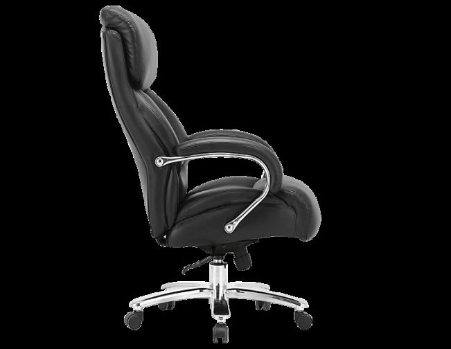 Кресло офисное натуральная кожа