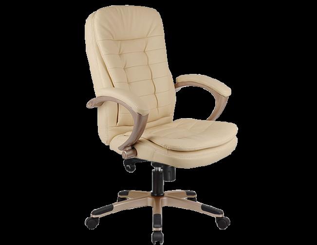 Кресло офисное для руководителя экокожа